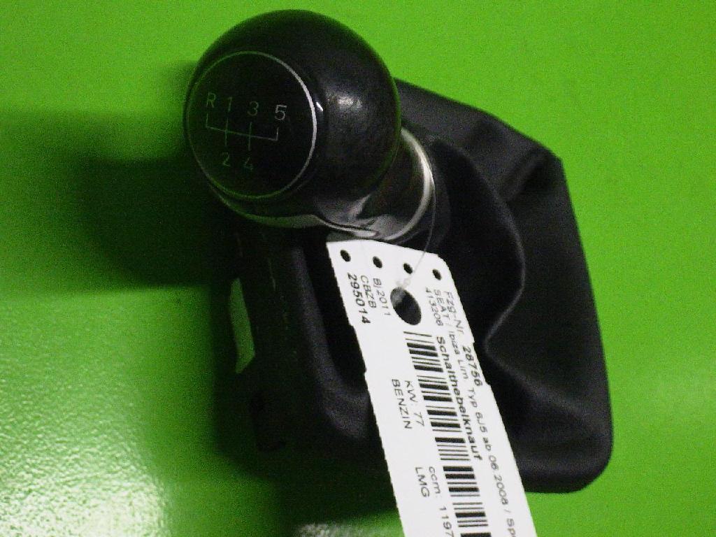 Schaltknauf SEAT IBIZA IV (6J5, 6P1) 1.2 TSI 6J0863279 Bild 1