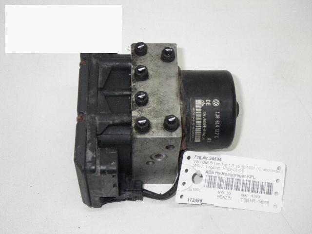 ABS Hydroaggregat komplett VW GOLF IV (1J1) 1.4 16V 1J0907379G