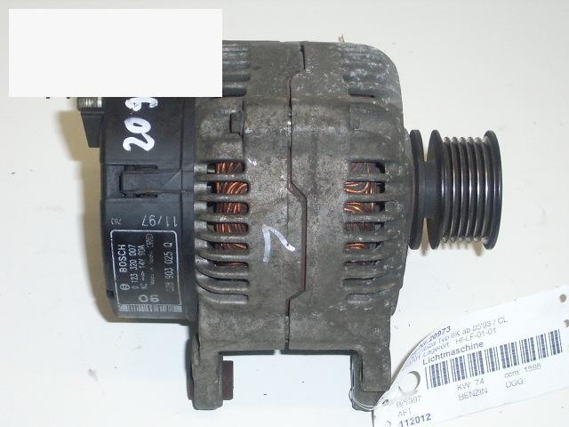 Lichtmaschine SEAT IBIZA II (6K1) 1.6 i 0123320007