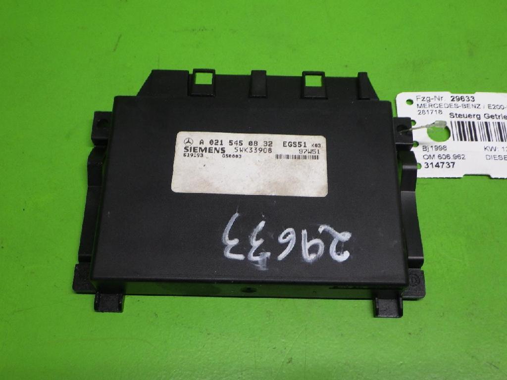 Steuergerät Getriebe MERCEDES-BENZ E-KLASSE T-Model (S210) E 300 T Turbo-D (210.225) 5WK33908