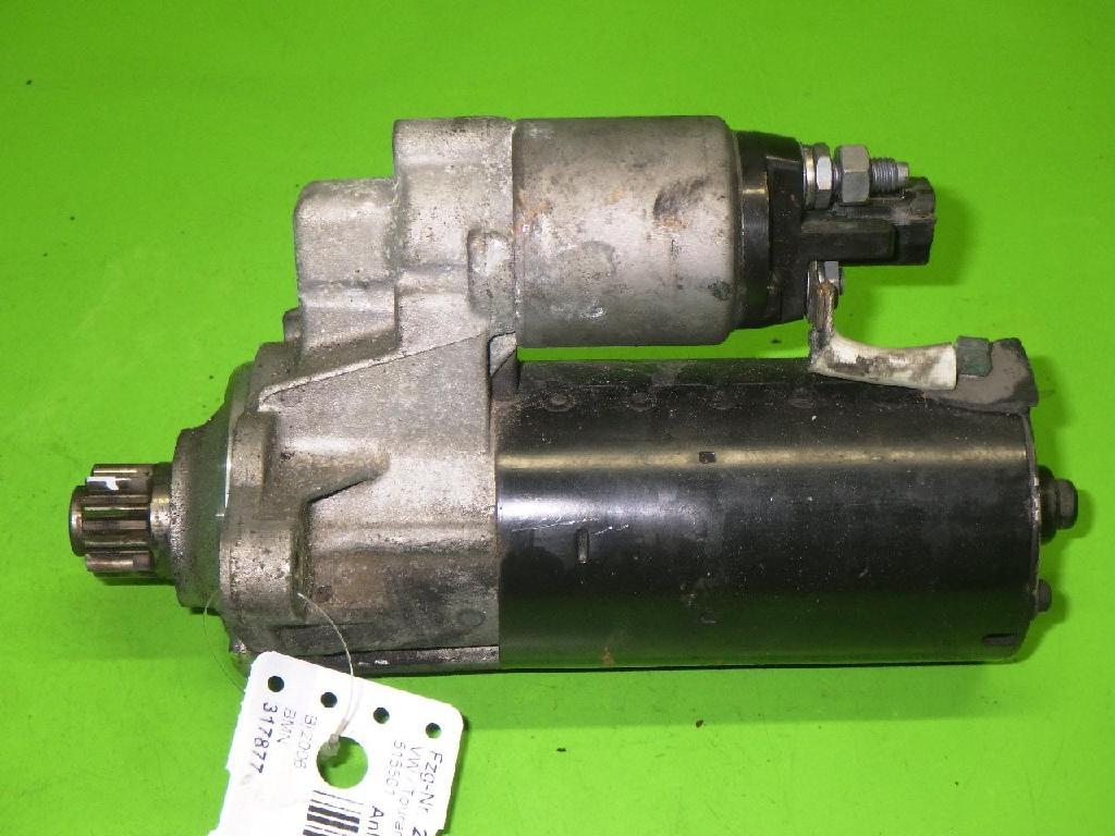 Anlasser komplett VW TOURAN (1T1, 1T2) 2.0 TDI 0001123016