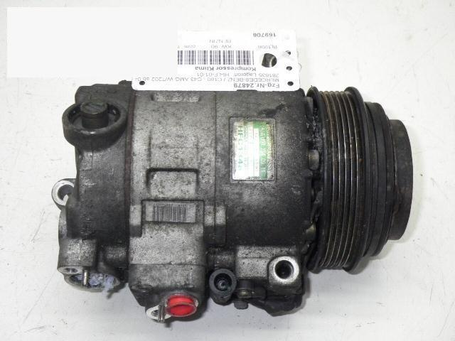 Kompressor Klima MERCEDES-BENZ C-KLASSE T-Model (S202) C 180 T (202.078) 0002340911
