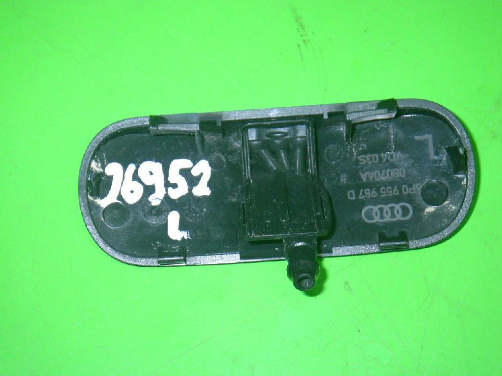 Spritzdüse links Scheibenwaschanlage AUDI (NSU) A3 Sportback (8PA) 1.6 8P0955987D Bild 2