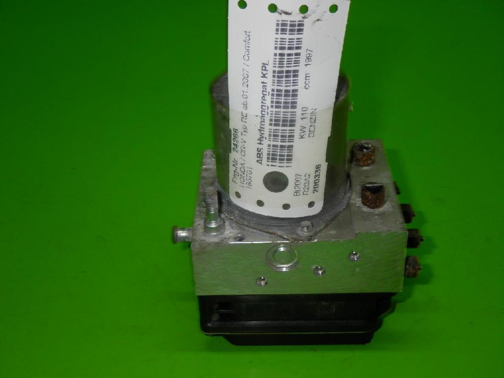 ABS Hydroaggregat komplett HONDA CR-V III (RE) 2.0 i 4WD 0265950676