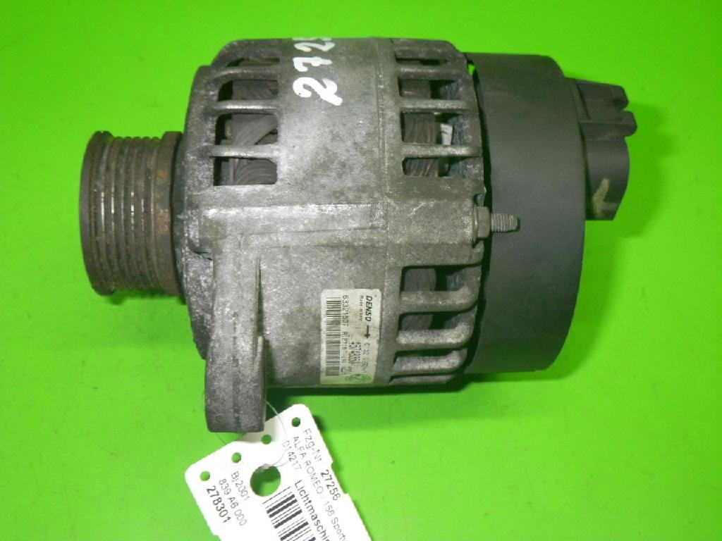 Lichtmaschine ALFA ROMEO 156 Sportwagon (932) 2.4 JTD (932B1B__) 46748353