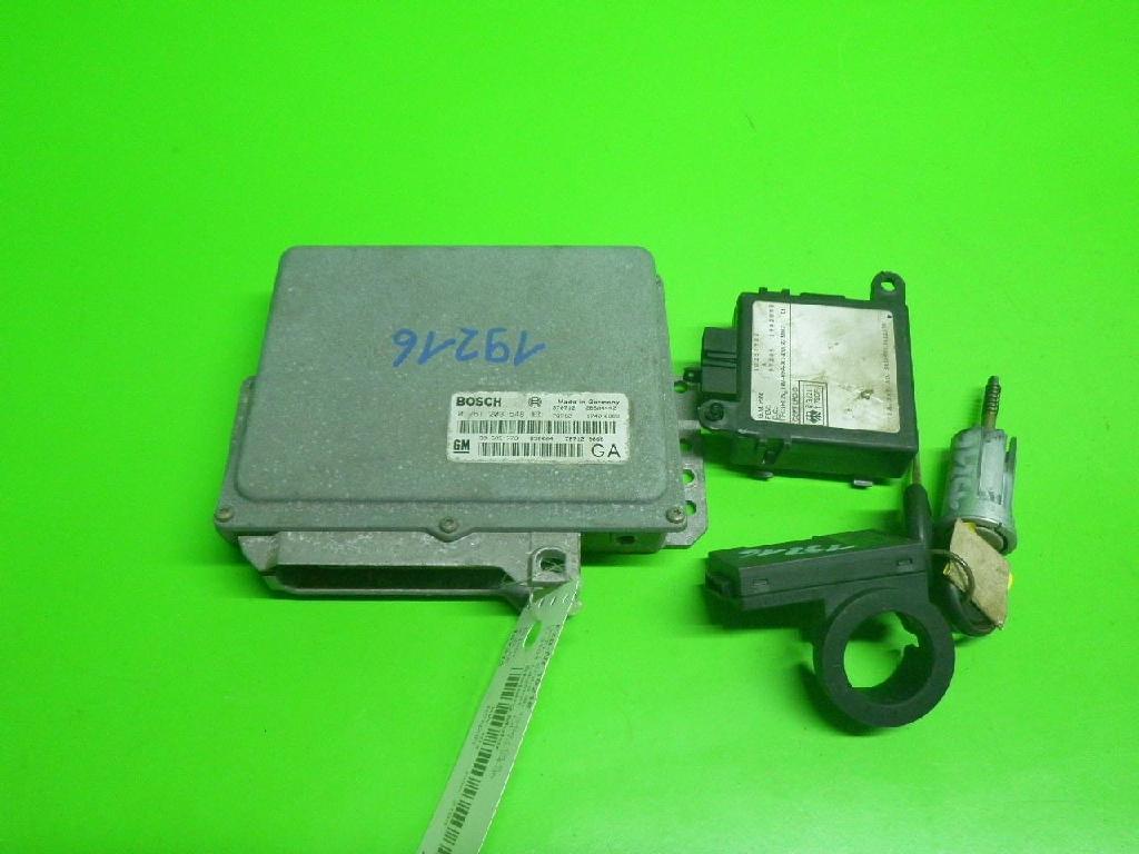 Steuergerät Motor OPEL SINTRA 2.2 i 16V 0261203548