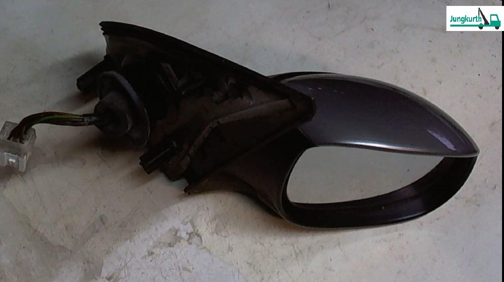 A.spiegel R El.verst.-/heizb.silber Met. 206 '01* Peugeot 206