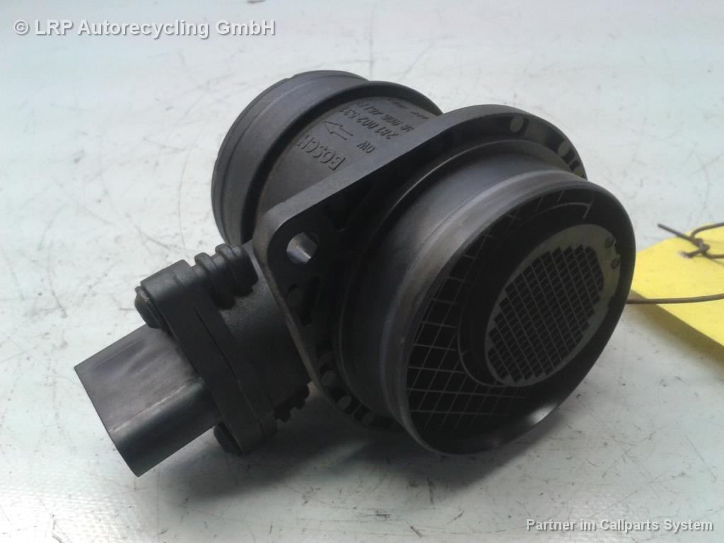 Seat Leon 1P BJ2008 Luftmengenmesser 038906461B Bosch 0281002531