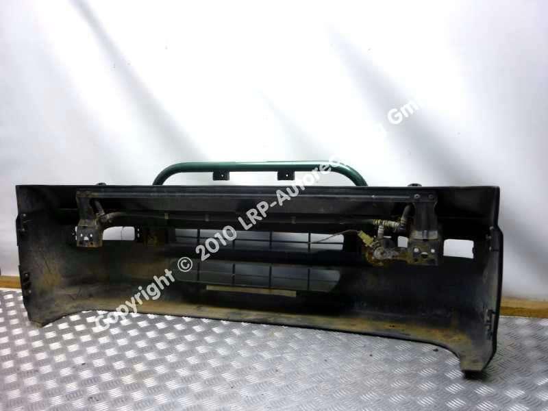 Subaru Libero BJ1998 Stossfänger Stoßstange vorne grün Scheinwerferreinigung Bild 4