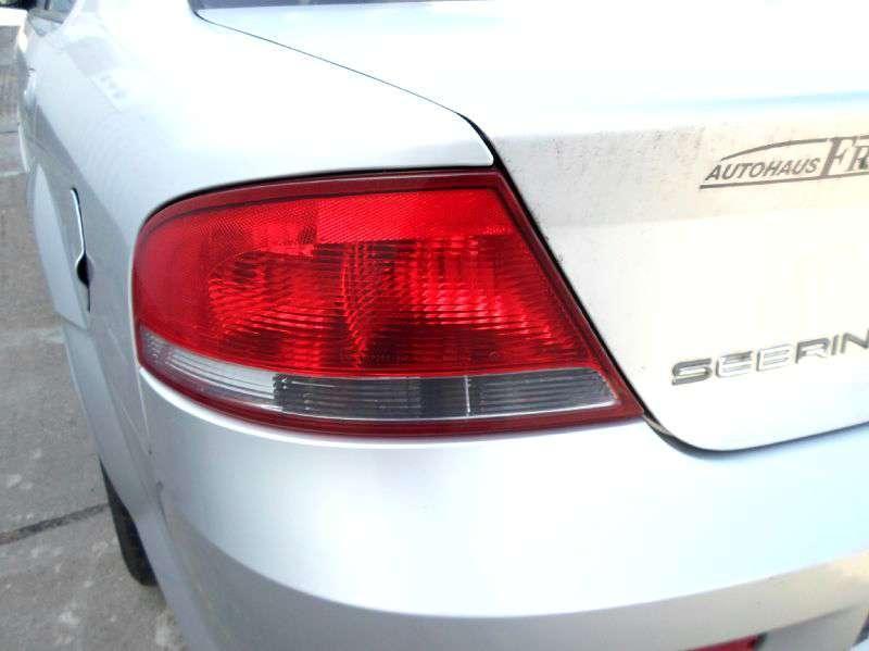 Chrysler Sebring JR 4-türig Limousine Bj.2001 original Rückleuchte Schlussleuchte links