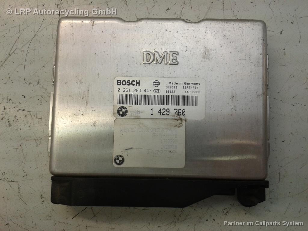 BMW 3er E36 318i Bj.1996 original Motorsteuergerät 1.8 M43 85kw 1429760 0261203447
