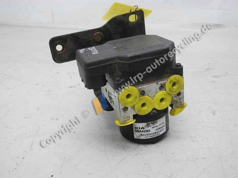 Kia Rio DC Bj.2003 1,3 55kw Hydroaggregat ABS Block 58970FD100 MANDO BH60103900