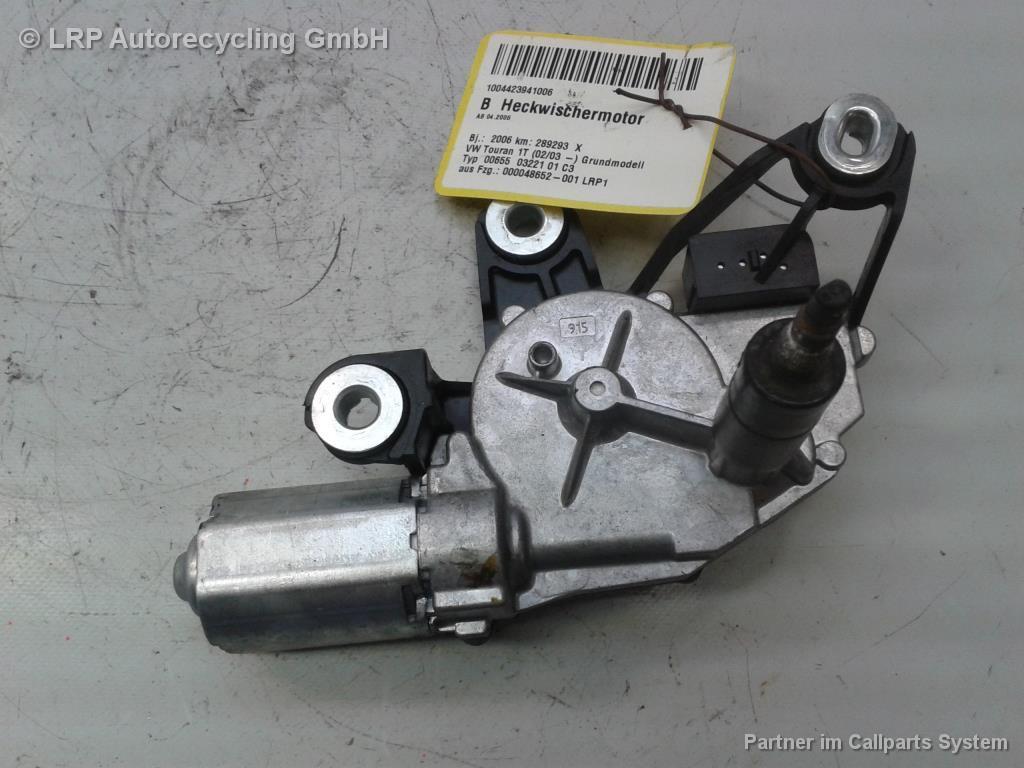 Heckscheibenwischermotor VW Touran Scheibenwischermotor 1T0955711 BOSCH