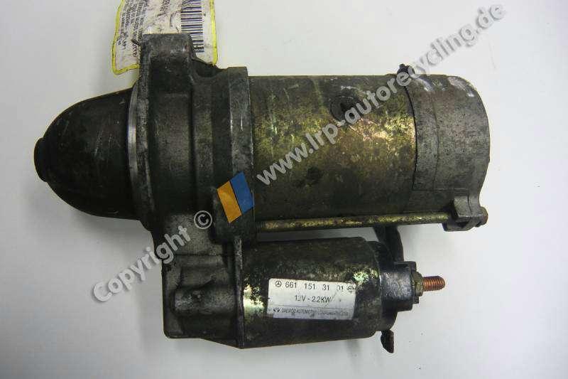 SsangYong Muso 2,9TD-88kW 4x4 Bj.1998 Schalter Anlasser 6611513101