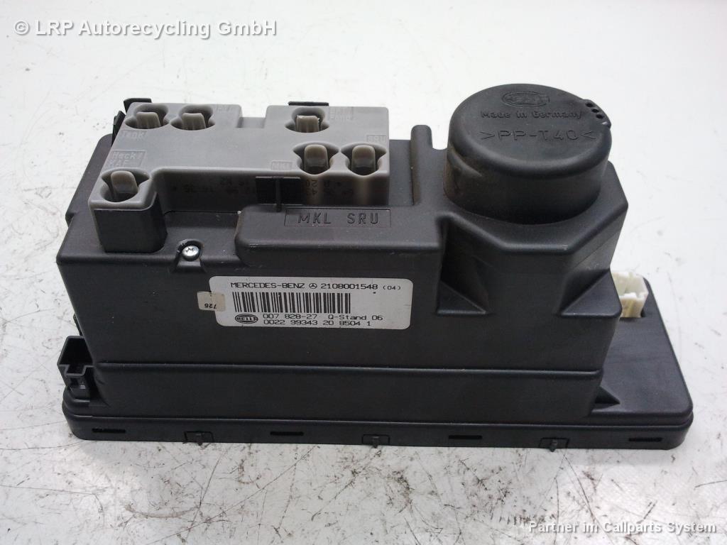 Mercedes W202 C-Klasse Bj.2000 original Pumpe Zentralverriegelung 2108001548