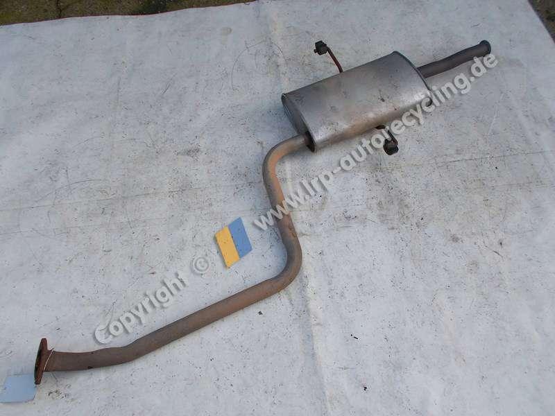 Mittelschalldaempfer 28700-17300 Hyundai Matrix Fc (Ab 05/01) BJ: 2001