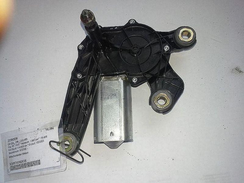 Wischermotor hinten  CITROEN C8 (EA_, EB_) 2.0 HDI 79 KW 53015412