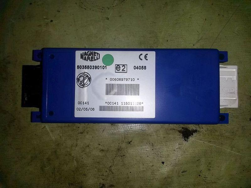 Steuergerät Zentralverriegelung Innenraum Steuergerät FIAT PANDA (169) 1.2 44 KW 503550390101