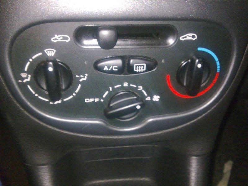 Bedienelement, Klimaanlage Heizungsregler PEUGEOT 206 SCHRÄGHECK (2A/C) 1.4I 55 KW