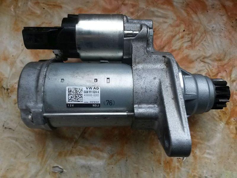Anlasser Magnetschalter ist defekt siehe Photo VW GOLF VII (5G1) 1.2 TSI 77 KW OAM911024A
