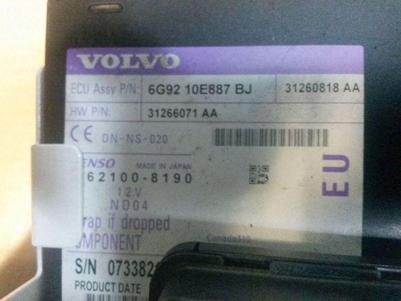 DVD-Player  VOLVO V70 III D5 BW KOMBI 136 KW 31266071AA Bild 3