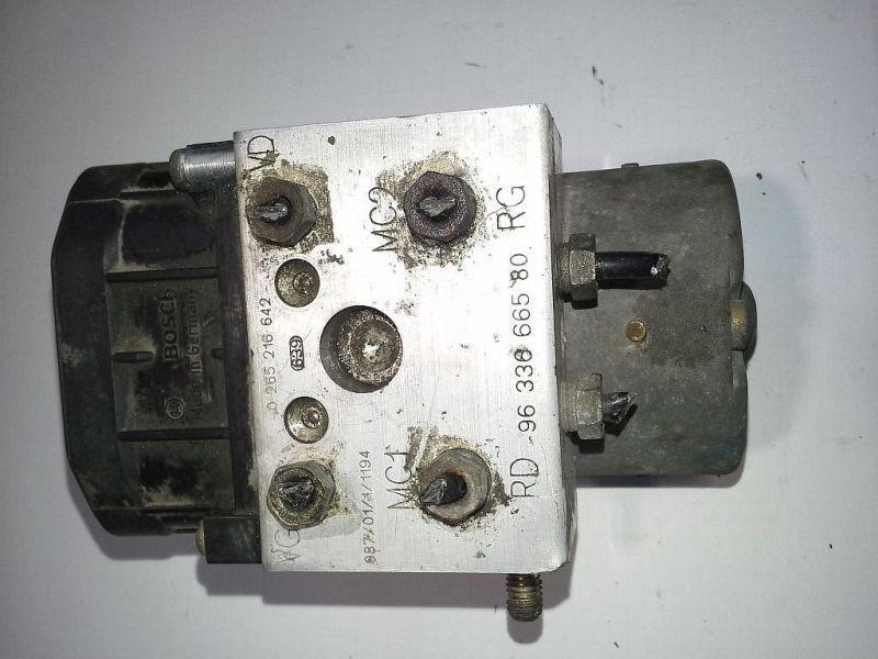 Bremsaggregat ABS PKW hat hinten Trommelbremse CITROEN XSARA PICASSO (N68) 1.6 70 KW 0273004353