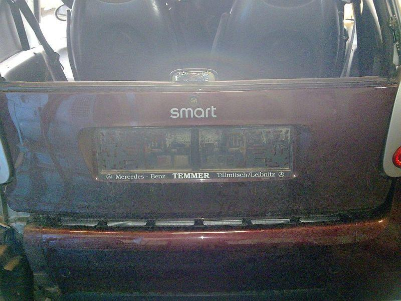 Heckklappe  SMART FORTWO COUPE (450) 0.7 45 KW