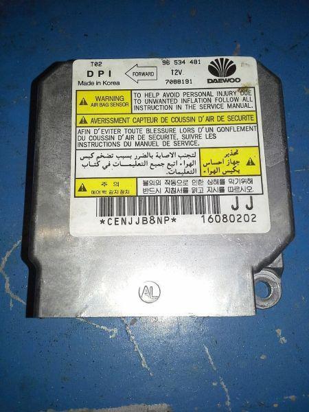 Steuergerät Airbag  DAEWOO KALOS (KLAS) 1.4 61 KW 96534481