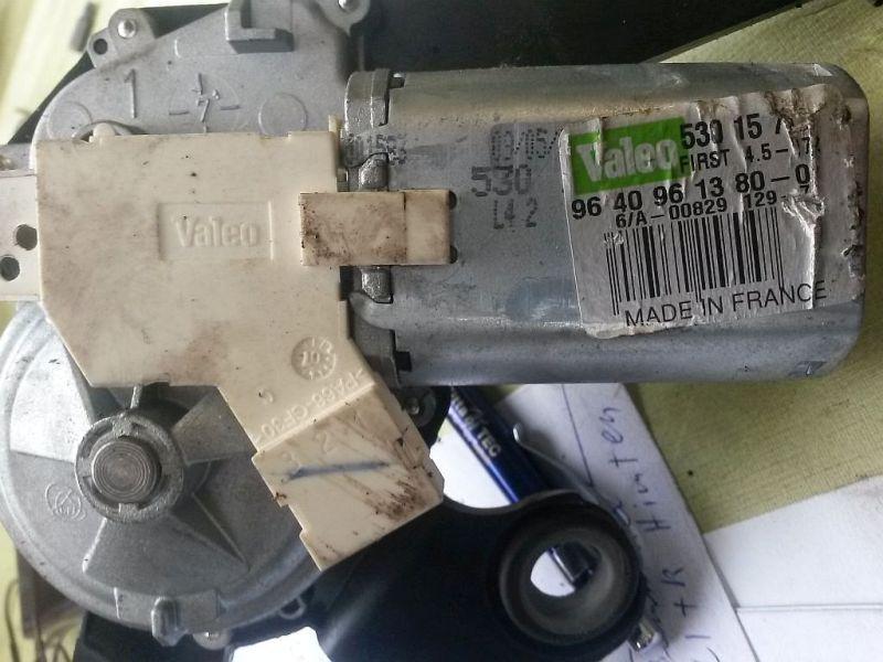 Wischermotor hinten  PEUGEOT 307 SW (3H) 1.6 HDI 90 66 KW 96409613800