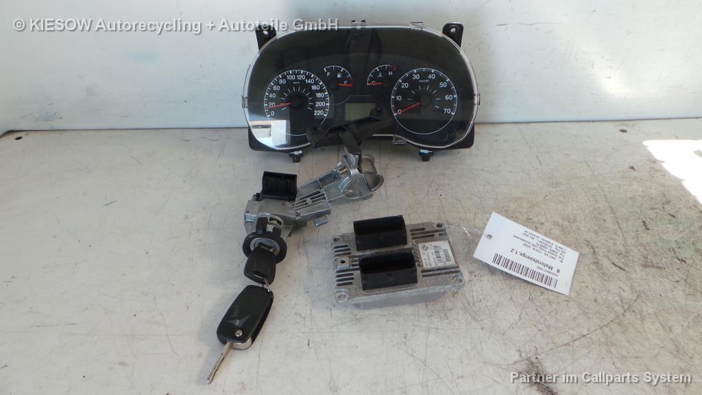 Fiat Grande Punto 188;Motorsteuergerät;ab 09/05-;51798649;6160109808