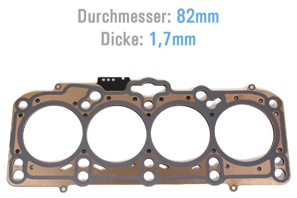 Zylinderkopfdichtung ZKD VW Audi 2,0 TDI AZV BKD BLB 03G103383AC NEU