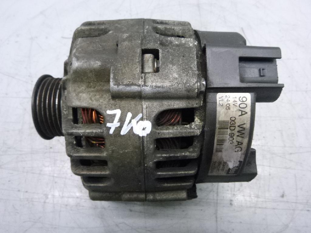 Lichtmaschine VW Skoda Seat Polo 9N Cordoba 1,2 CGP CGPA CGPB BME 03D903025
