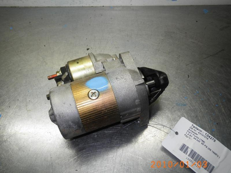 Anlasser FIAT Punto (188) 1.2 8V 44 kW 60 PS (09.1999-> ) 63101018