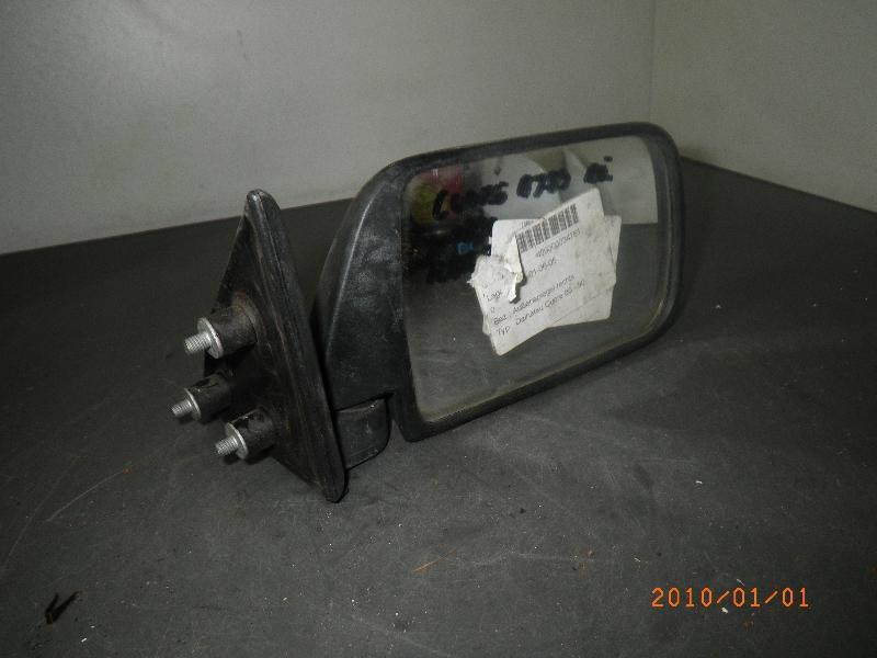 Außenspiegel rechts DAIHATSU Cuore II (L80, L81) 0.8 32 kW 44 PS (09.1985-06.1990)