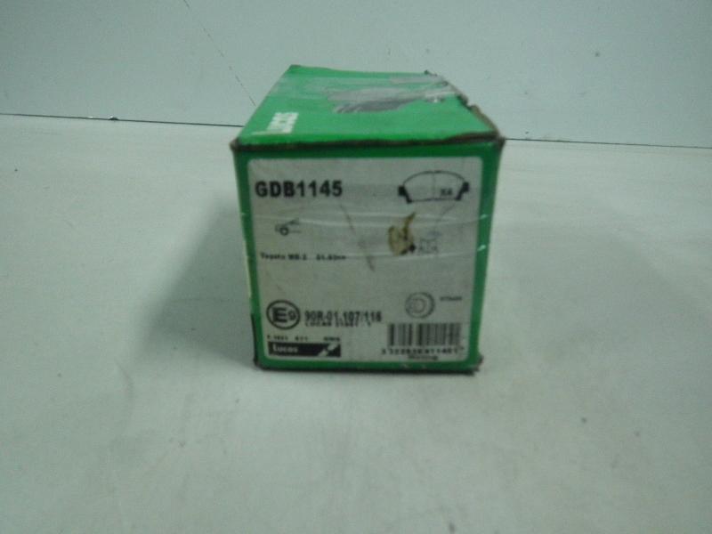 Bremsbelag SB TOYOTA MR 2 (W2) 2.0 125 kW 170 PS (12.1989-05.2000) GDB1145