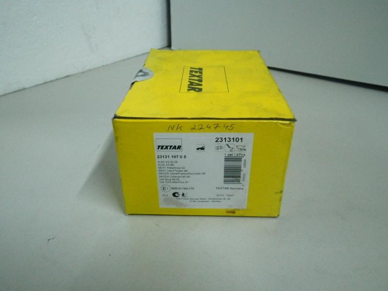 Bremsbelag SB AUDI A3 (8L) 1.6 75 kW 102 PS (08.2000-05.2003) 2313101
