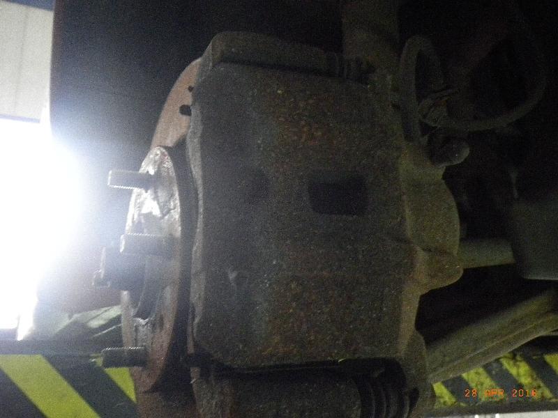 Bremssattel rechts vorne MITSUBISHI Lancer VII Stufenheck (CS0) 1.6 72 kW 98 PS (09.2003-> )