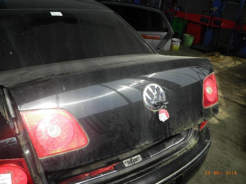 Heckklappe / Heckdeckel VW Phaeton (3D) 3.0 V6 TDI 4motion 165 kW 224 PS (09.2004-> )