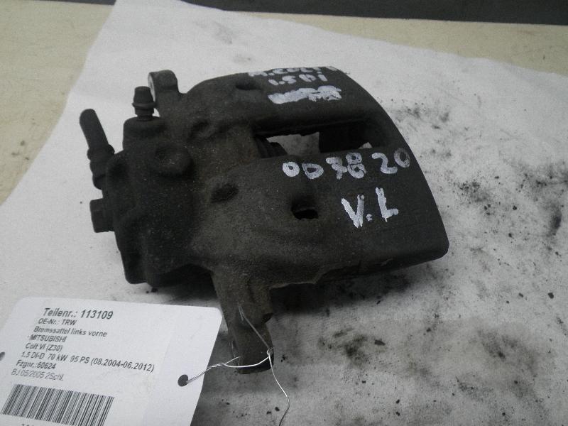 Bremssattel links vorne MITSUBISHI Colt VI (Z30) 1.5 DI-D 70 kW 95 PS (08.2004-06.2012)