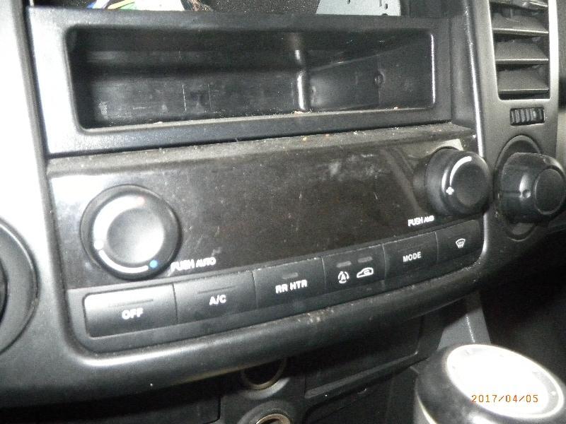 Bedienelement für Klimaanlage SSANGYONG Rodius (AJ) 2.7 XDi 4WD 120 kW 163 PS (05.2005-> )