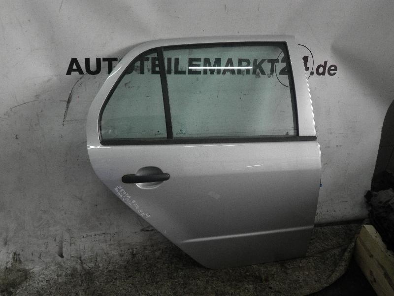 Tür rechts hinten SKODA Fabia (6Y) 1.2 40 kW 54 PS (08.2002-03.2008) SILBER9102