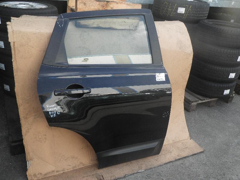 Tür rechts hinten NISSAN Qashqai (J10) 1.5 dCi 78 kW 106 PS (02.2007-> )
