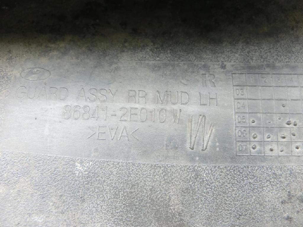 Hyundai Tucson JM 05-10 Schmutzfänger Hinten Links Bild 5