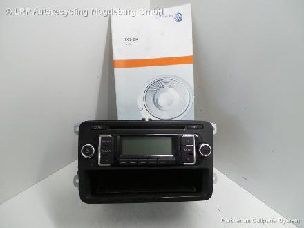 Vw Polo 6r Bj 11 Radio Autoradio Rcd210 5m0035156c Mp3 Cd Radio