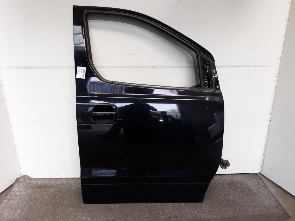 Hyundai H1 BJ 2009 Tür vorn rechts Beifahrertür Schwarz