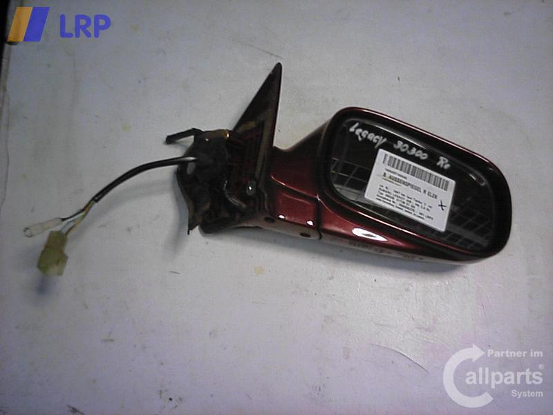 Subaru Legacy BJ 1997 Außenspiegel rechts elektrisch Spiegel Rot