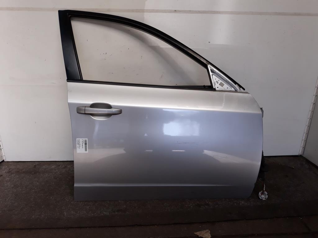 Subaru Impreza (GH) BJ 2010 Tür vorn rechts Beifahrertür Grau