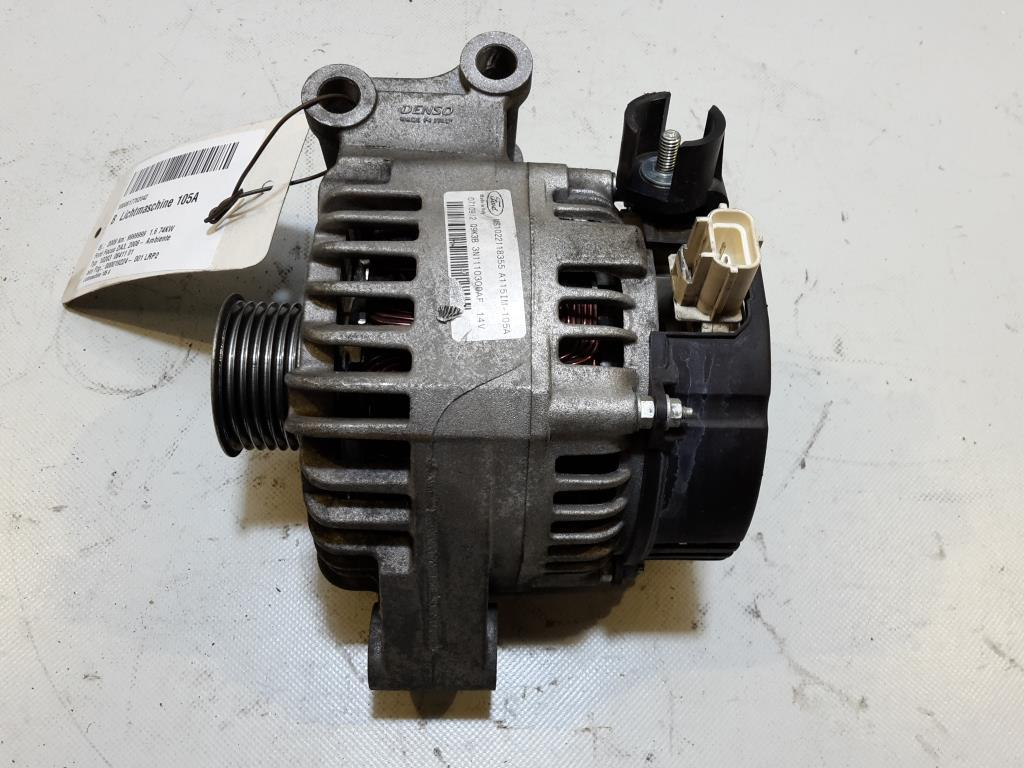 Ford Focus Bj 2009 Lichtmaschine Generator 1.6 74Kw 105A Denso MS1022118355