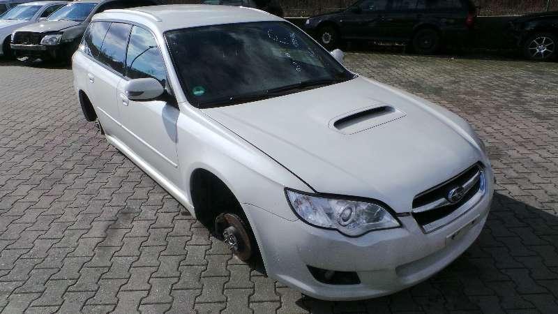 Subaru Legacy BP BJ 2008 Tür hinten links Kombi weiß
