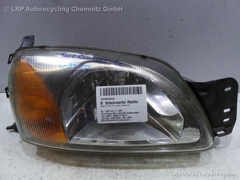 Ford Fiesta Courier BJ 2001 Scheinwerfer vorn rechts Lampe Bosch Facelift